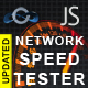JavaScript Network Speed Tester