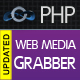 PHP Web Media Grabber - Advanced PHP web resources extractor